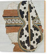 Minoan Livestock Painting Wood Print