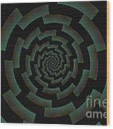Minotaur's Labyrinth Wood Print
