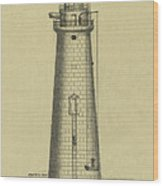 Minot's Ledge Lighthouse Wood Print