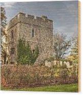 Minster Abbey Gatehouse Wood Print