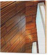 Mint Ceiling 1 Wood Print