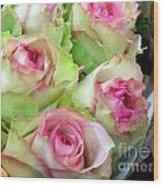 Mint Julep Bouquet Wood Print