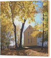 Minuteman National Historic Park Brooks House Wood Print by John Burk