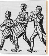 Minutemen: Spirit Of 1776 Wood Print