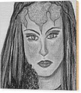Mirabella Black White Wood Print