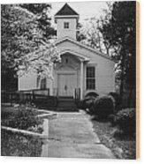 Miracle Hill Church Wood Print