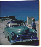 Miracle Mile Oldsmobile Wood Print