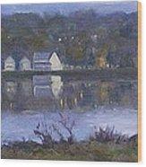 Miramichi River Magic Wood Print