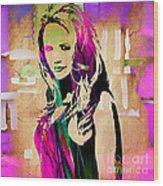 Miranda Lambert Collection Wood Print