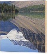 Mirror Lake Banff National Park Canada Wood Print