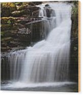 Mirror Lake Falls Wood Print