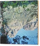 Mirror Lake Three New Zealand Wood Print
