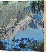 Mirror Lake Two New Zealand Wood Print