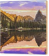Mirror Lake Yosemite National Park Wood Print