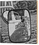 Mirror - Me  Wood Print