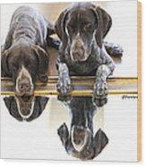 Mirror Mirro Wood Print