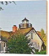 Mispillion Lighthouse - Lewes Delaware Wood Print