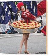 Miss Fourth Of July Wood Print