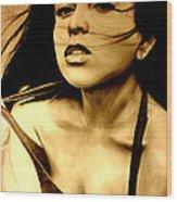 Miss Gidget Wood Print
