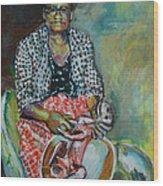 Miss Hattie - Skinning Wood Print