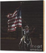 Miss Pro Rodeo Usa Wood Print