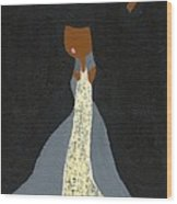 Miss Ross Wood Print