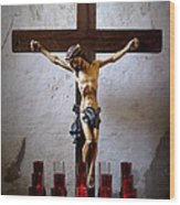 Mission Concepcion - Crucifixion Wood Print