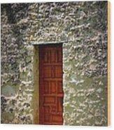 Mission Concepcion - Door Wood Print