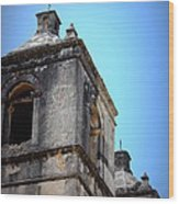 Mission Concepcion - Tower Wood Print