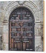 Mission Doors Wood Print