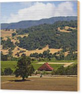 Mission Meadows Solvang California Wood Print