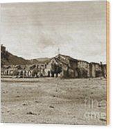 Mission San Antonio De Padua California Circa 1903 Wood Print