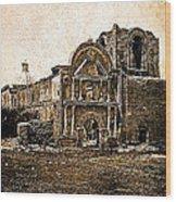 Mission San Jose De Tumacacori Tumacacori Arizona C.1830-2013  Wood Print