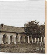 Mission San Juan Bautista San Benito County Circa 1905 Wood Print