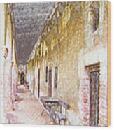 Mission San Juan Capistrano No 5 Wood Print