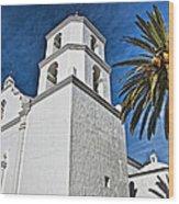 Mission San Luis Rey - California Wood Print
