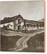 Mission San Rafael California  Circa 1880 Wood Print