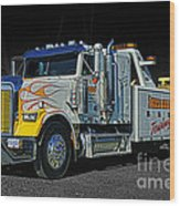 Mission Towing Hdrcatr2999-13 Wood Print
