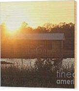 Mississippi Bayou 4 Wood Print
