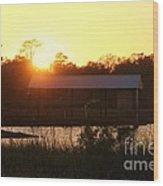Mississippi Bayou 6 Wood Print