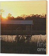 Mississippi Bayou 7 Wood Print