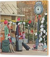 Mississippi Christmas 20 Wood Print