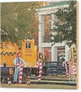 Mississippi Christmas 8 Wood Print