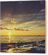 Mississippi Gulf Coast Beauty Wood Print
