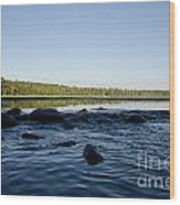 Mississippi Headwater And Lake Itasca Wood Print