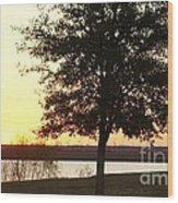 Mississippi Sunset 13 Wood Print