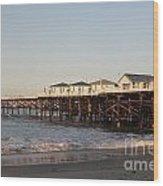 Misson Beach  Wood Print