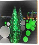Missouri Botanical Garden Glow Dsc09293 Wood Print