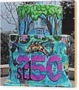 Missouri Botanical Garden Stl250 Birthday Cake Wood Print