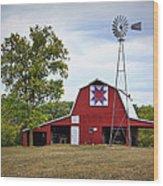 Missouri Star Quilt Barn Wood Print